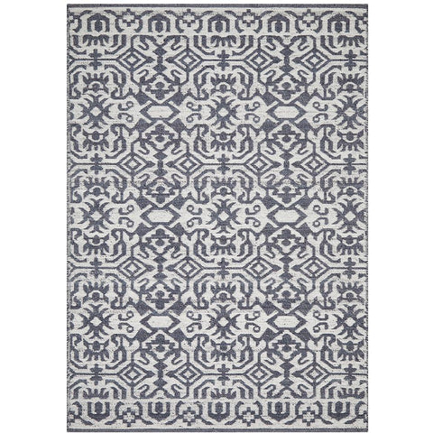 Alfheim 436 Silver Grey Transitional Floor Rug - Rugs Of Beauty - 1