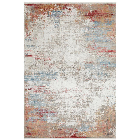 Tokat 2359 Blue Multi Colour Wash Transitional Rug - Rugs Of Beauty - 1