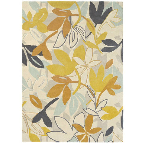 Scion Baja Dandelion 23306 Modern Designer Wool Rug - Rugs Of Beauty - 1