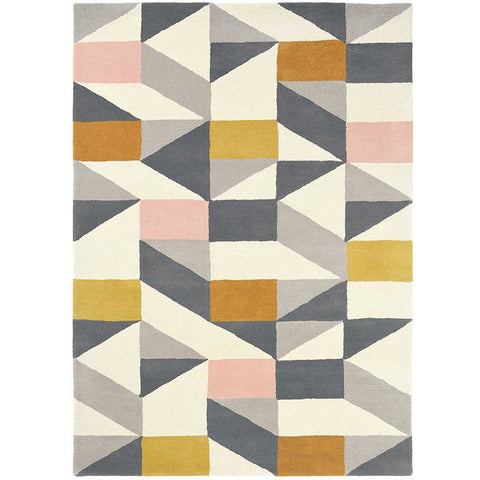Scion Nuevo Blush 26102 Modern Designer Wool Rug - Rugs Of Beauty - 1