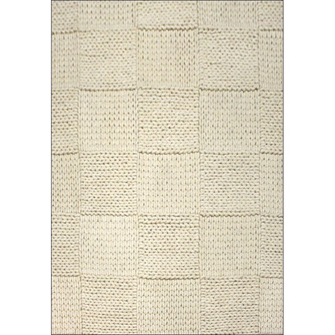 Handwoven Braided Wool Rug - Ottawa1014 - White - Rugs Of Beauty
