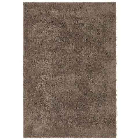 Arnhem Contemporary Beige Microfiber Soft Shaggy Rug - Rugs Of Beauty - 1