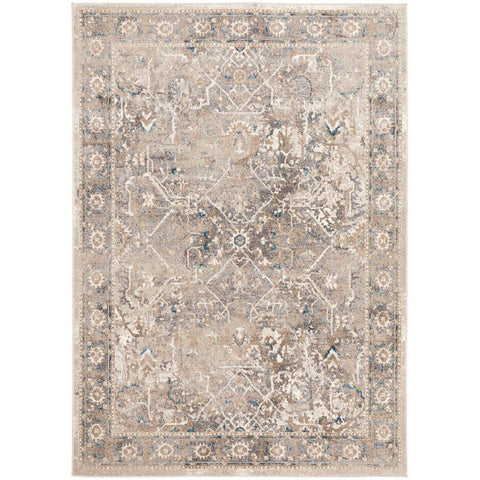 Angelus 704 Bone Traditional Patterned Designer Rug - Rugs Of Beauty - 1