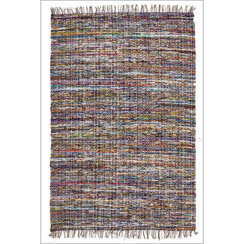 Primal Chindi Cotton Rug Blue - Rugs Of Beauty