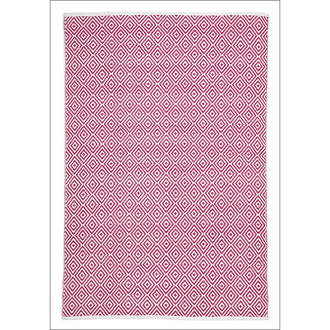 Villa Modern Diamond Rug Pink - Rugs Of Beauty