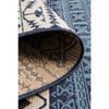 Coogee 4452 White Blue Tribal Inspired Indoor Outdoor Modern Rug - Rugs Of Beauty - 9