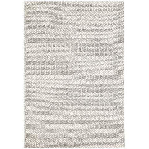 Avesta 1755 Silver Beige Modern Scandinavian Wool Rug - Rugs Of Beauty - 1