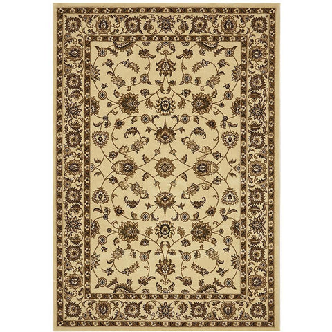Charook 2376 Ivory Traditional Pattern Ivory Border Rug - Rugs Of Beauty - 1