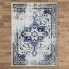 Kota 1423 Blue Beige Transitional Patterned Rug - Rugs Of Beauty - 3