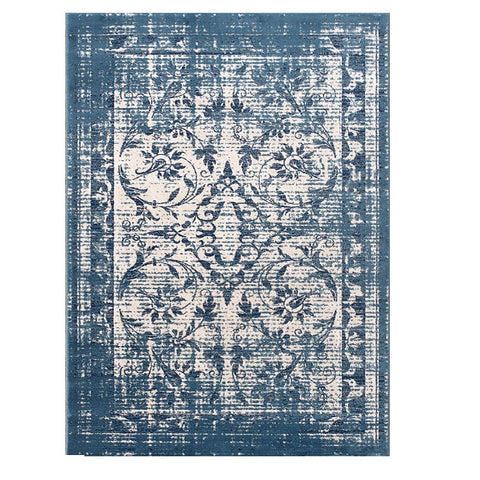 Kota 1424 Blue Beige Transitional Patterned Rug - Rugs Of Beauty - 1