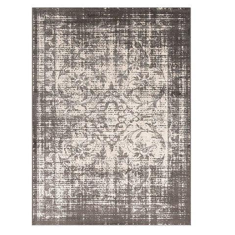 Kota 1424 Grey Beige Transitional Patterned Rug - Rugs Of Beauty - 1