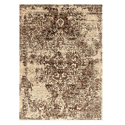 Kota 1425 Brown Beige Transitional Patterned Rug - Rugs Of Beauty - 1