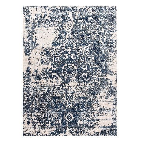 Kota 1425 Blue Beige Transitional Patterned Rug - Rugs Of Beauty - 1