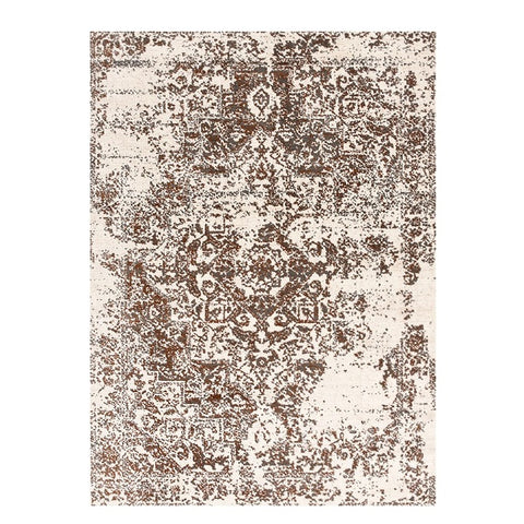 Kota 1425 Grey Rust Beige Transitional Patterned Rug - Rugs Of Beauty - 1