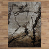 Quilon 1675 Sand Modern Abstract Patterned Rug - Rugs Of Beauty - 3