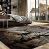 Quilon 1675 Sand Modern Abstract Patterned Rug - Rugs Of Beauty - 2
