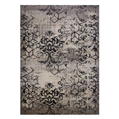 Quilon 1676 Clay Modern Abstract Patterned Rug - Rugs Of Beauty - 1
