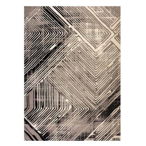 Quilon 1678 Granite Modern Abstract Patterned Rug - Rugs Of Beauty - 1