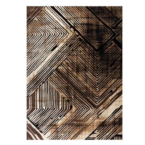 Quilon 1678 Sand Modern Abstract Patterned Rug - Rugs Of Beauty - 1