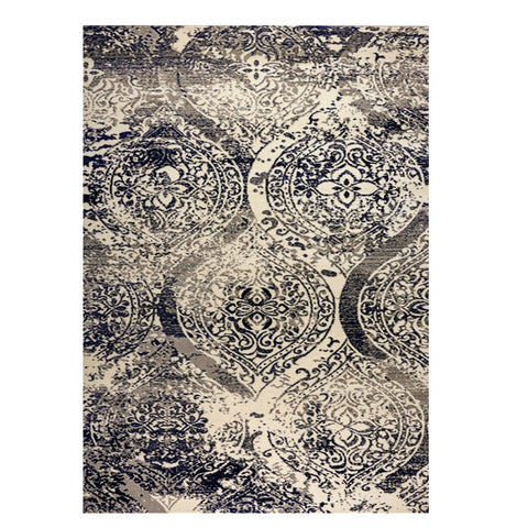 Quilon 1679 Onyx Modern Abstract Patterned Rug - Rugs Of Beauty - 1