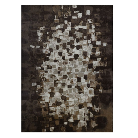 Quilon 1680 Clay Modern Abstract Patterned Rug - Rugs Of Beauty - 1