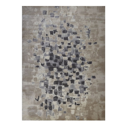 Quilon 1680 Sand Modern Abstract Patterned Rug - Rugs Of Beauty - 1