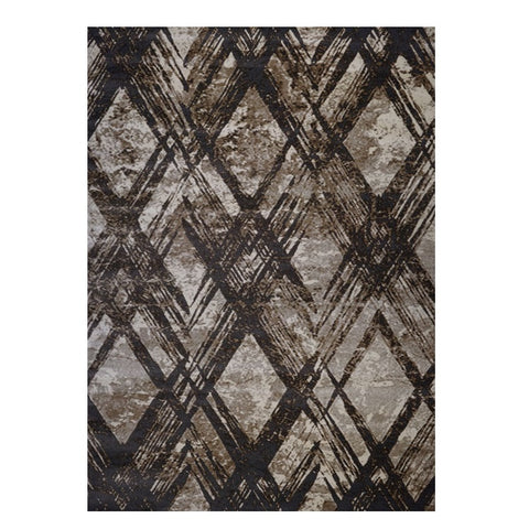 Quilon 1681 Clay Modern Abstract Patterned Rug - Rugs Of Beauty - 1