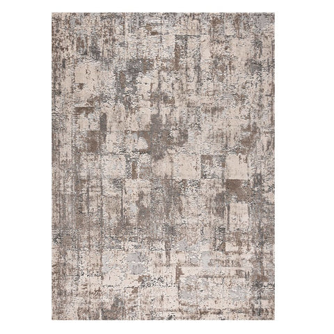 Nema 4380 Light Grey Modern Patterned Rug - Rugs Of Beauty - 1
