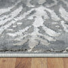 Acapulco 755 Grey Damask Patterned Modern Rug - Rugs Of Beauty - 4