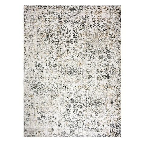 Acapulco 755 Linen Damask Patterned Modern Rug - Rugs Of Beauty - 1