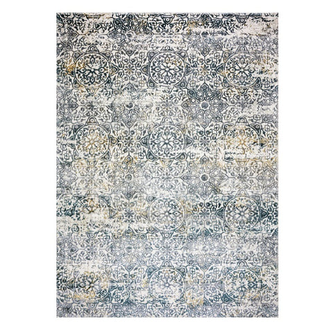 Acapulco 757 Slate Grey Patterned Modern Rug - Rugs Of Beauty - 1