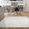 Acapulco 765 Vanilla Damask Patterned Modern Rug - Rugs Of Beauty - 3