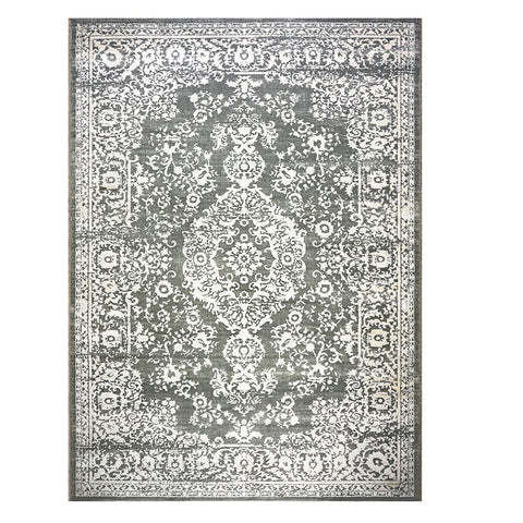 Acapulco 767 Grey Patterned Modern Rug - Rugs Of Beauty - 1