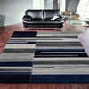 Canterbury 1126 Grey Blue Patterned Modern Rug - Rugs Of Beauty - 2