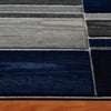 Canterbury 1126 Grey Blue Patterned Modern Rug - Rugs Of Beauty - 4