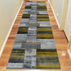 Canterbury 1130 Grey Gold Abstract Patterned Modern Rug - Rugs Of Beauty - 7