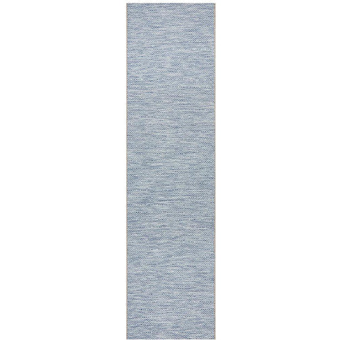Siderno 4110 Blue Modern Indoor Outdoor Runner Rug - Rugs Of Beauty - 1