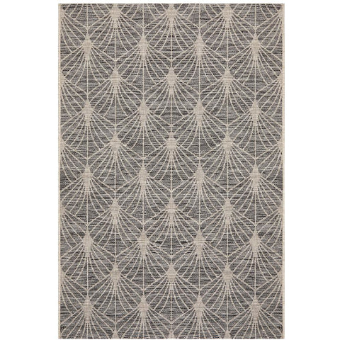 Siderno 4112 Black Modern Indoor Outdoor Rug - Rugs Of Beauty - 1