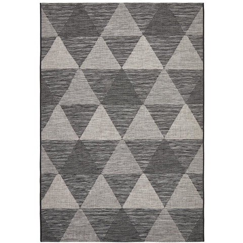 Siderno 4113 Black Modern Indoor Outdoor Rug - Rugs Of Beauty - 1