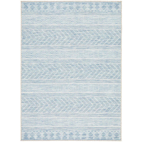 Siderno 4115 Blue Modern Indoor Outdoor Rug - Rugs Of Beauty - 1