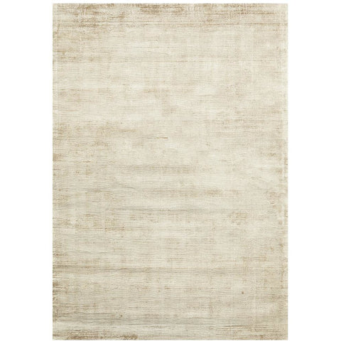 Twilight Luxe Modern Distressed Latte Viscose Rug - Rugs Of Beauty - 1