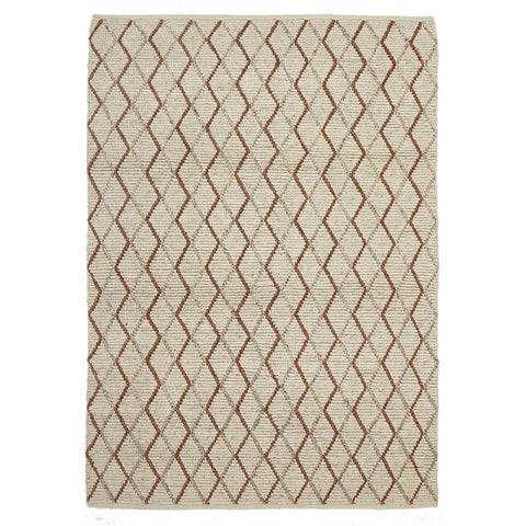 Urban 7502 Copper Flatweave Designer Rug - Rugs Of Beauty - 1