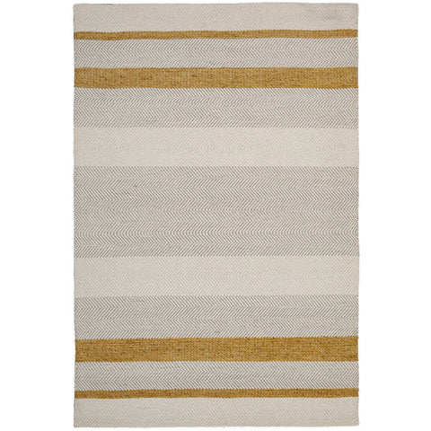 Urban 7506 Yellow Flatweave Designer Rug - Rugs Of Beauty - 1