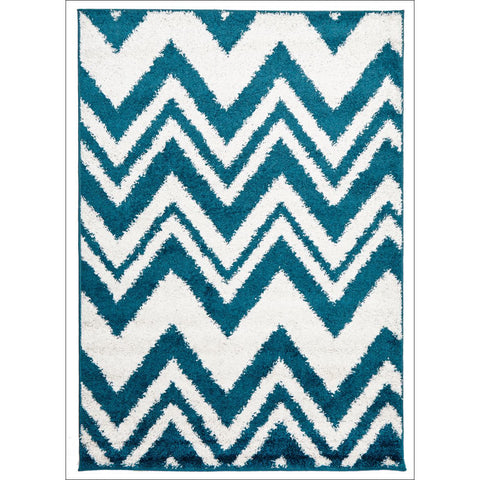 Chevy Shag Rug Blue - Rugs Of Beauty - 1