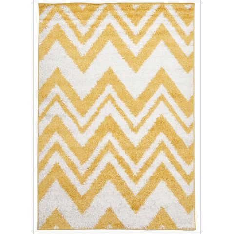 Chevy Shag Rug Yellow - Rugs Of Beauty - 1