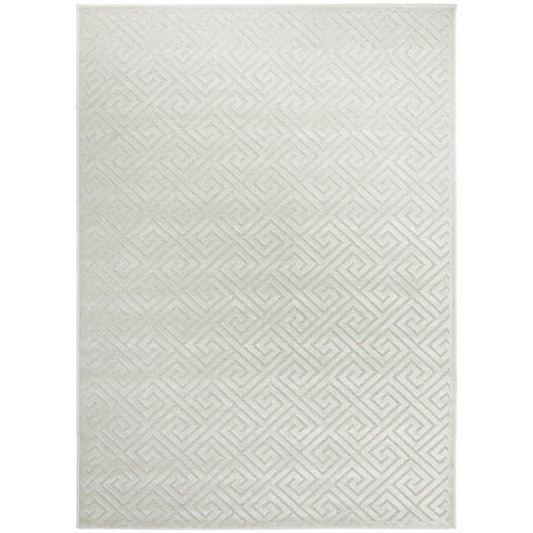 Skien 530 Luxe Modern Natural White Rug - Rugs Of Beauty - 1