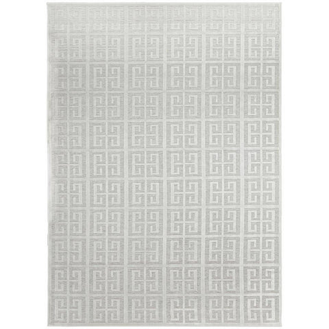 Skien 531 Luxe Modern Natural White Rug - Rugs Of Beauty - 1