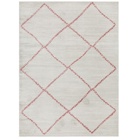 Louga 339 Silver Grey Modern Tribal Rug - Rug Of Beauty - 1