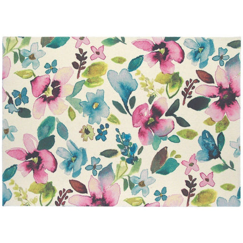 Bluebellgray Christine 18100 Designer Floral Wool Rug - Rugs Of Beauty