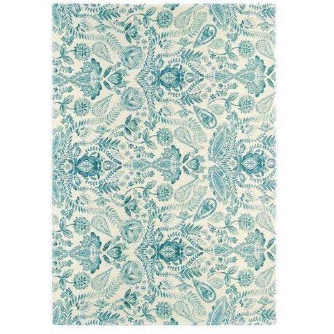 Bluebellgray Aria 19608 Designer Wool Rug - Rugs Of Beauty - 1